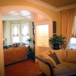 Architectural - Painted Paneled Archway and cabinet 2008 Haddonfield NJ