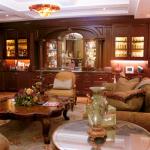Bar - Mahogany Bar Wall Paneling and Bookcases 2016 Ritz Residences Philadelphia PA