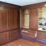 Bedroom - Mahogany Closet Cabinet Wardrobe Traditional Mt Laurel NJ
