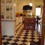 Kitchen - Mahogany and Painted Victorian Kitchen Moorestown NJ