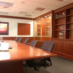 Office - Cherry Conference Room Cabinetry and Conference Table 2014 Barrington NJ