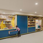 Wall Unit - Painted Contemporary Playroom Wall Unit Philadelphia PA 2